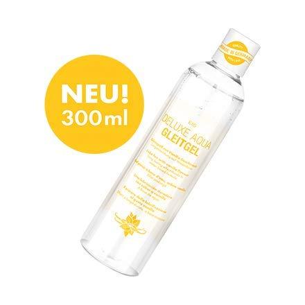 EIS, Lubricante Deluxe Aqua vainilla, efecto larga