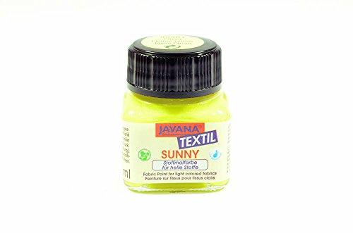 TEXTILE & FABRIC PAINT(Lemon Yellow)