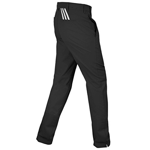 2015-adidas-puremotion-stretch-3-stripes-pants-mens-golf-flat-front-trousers-black-vista-grey-36x30
