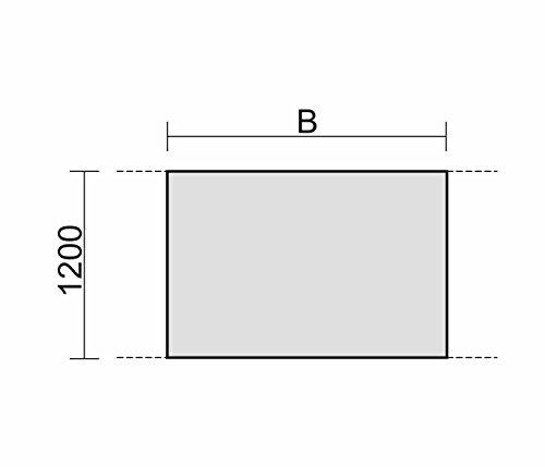 Geramöbel Konferenztisch Tellerfuß, Zwischenelement mit Verkettungsmaterial, Feste Höhe, 1600x1200x720, Weiß
