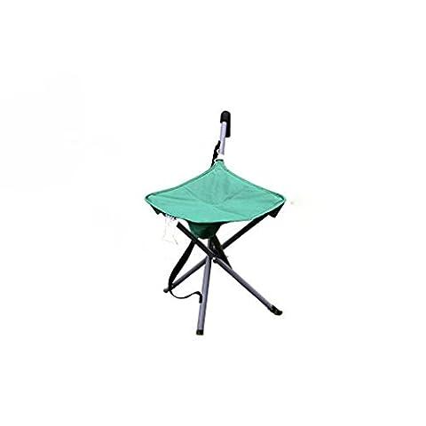 TangMengYun Tabouret pliable Ultra - Light Portable Outdoor Beach Camping Pêche Barbecue décontracté Tabouret pliant