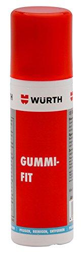 Gummipflege Gummifit - 75ml - Silikonfreie Pflege für Gummidichtungen - Pflegt Tür-, Kofferraum- und Motorhauben-Gummidichtungen und schützt zuverlässig vor Festfrieren im Winter.