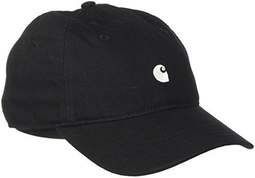 Carhartt Herren Baseball Cap Madison Logo, Multicolore (Black/White 89), One size