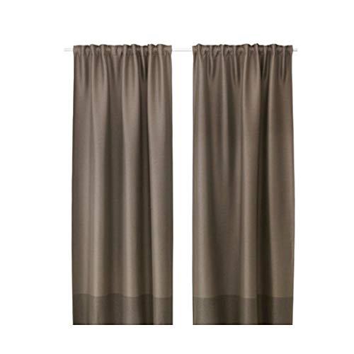 Ikea Marjun Tende oscuranti, 1Paio, Marrone (L: 144,8cm...