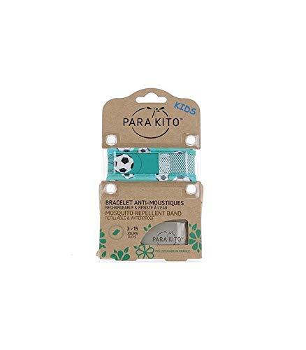 Parakito Kinder-Armband gegen Mücken, grüner Fuß