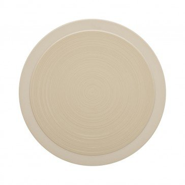 Lot de 6 assiettes plates BAHIA coloris Dune