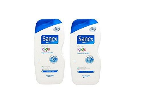sanex-dermo-bambini-schiuma-bagno-bagnoschiuma-set-di-2-x-500-ml-confezione-doppia-confezione