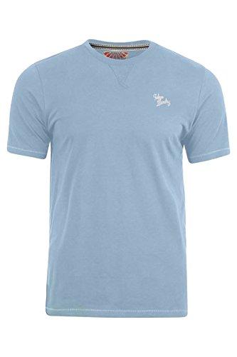 Tokyo Laundry Herren T-Shirt Placid Blue