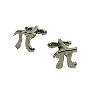1 Paar Mathematische Konstante Pi π Manschettenknöpfe Manschettenknöpfe für Herren Shirt