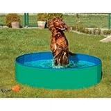 Karlie DOGGY POOL der Swimmingpool für Hunde - Grün-Blau 80 cm, Planschbecken, Basseng
