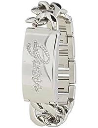 Guess Damen-Armbanduhr Analog Quarz Edelstahl W0321L1