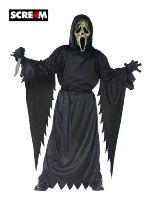 Zombie Ghost Face Kostüm - Schrei Ghost Face-Kostüm für Jungen