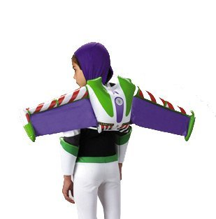 Toy Story Buzz Lightyear Child Costume Prop Jet (In Up Kostüm Smoke)