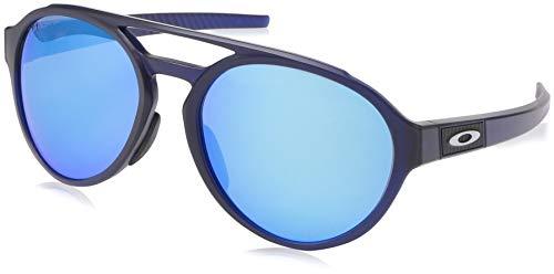 Ray-Ban Herren 0OO9421 Sonnenbrille, Mehrfarbig (Matte Translucent Blue), 58