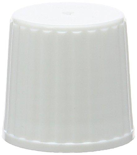 dutscher 063303Gap für Fläschchen mit einem Volumen von 250bis 1000ml–PP Gewinde 25, weiß, mit Ausschank Spitze (Gewinde-fläschchen)