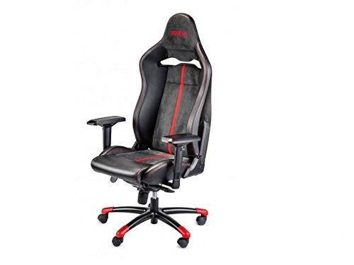SPARCO S00987FNRRS Silla Oficina/Gaming Comp V VTR Negro/Red, Rojo