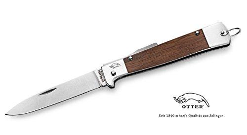 10 Nussbaum (Otter MERCATOR Messer Nussbaum 10-926 NB Carbonstahlklinge)