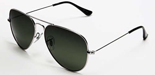Samba Shades Prämie Pilotenbrille Flieger Sonnenbrille UV400 Schutz Optimal Entwurf Herren und Frauen Aviator Sonnenbrillen