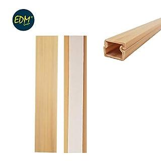 Mini Kanal Klebeband EDM 2m 12,7x 11Helles Holz Preis pro Meter