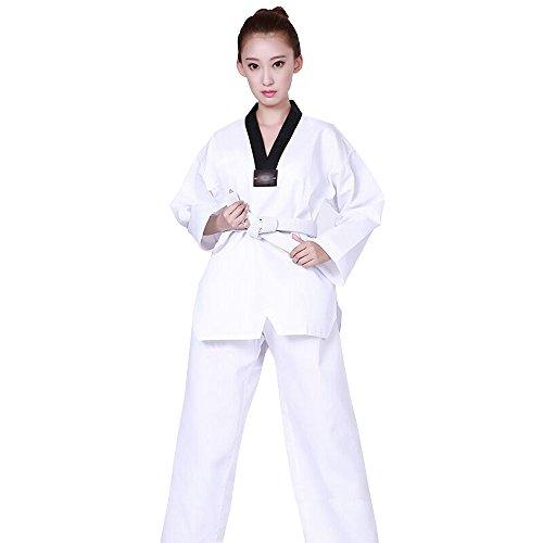 KINDOYO Bequem Kurzarm / Langarm Kampfsportanzug Karate Taekwondo Kung Fu Anzug für Kinder und Erwachsene