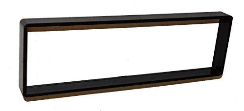 Aerzetix: Façade cadre réducteur adaptateur cache autoradio 1DIN pour auto voiture