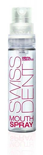Swissdent Extreme Whitening Mundspray, Natürlich Weisse Zähne, Mundspray für frischen Atem und Zahnaufhellung