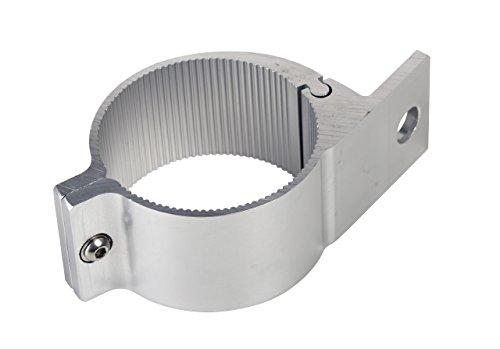 Universell passende Aluminium-Rohrschelle ø 60 bis 63mm für Lampenbügel, Frontbügel, Überrollbügel etc. 60-63 mm.