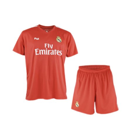 Conjunto camiseta y pantalón de portero Real Madrid 2017-2018 - Replica Oficial Licenciado - Dorsal 1 Navas - Niño talla 10 años - Medidas - Pecho 43,5 - Largo total 59 - Largo manga 16 cm.