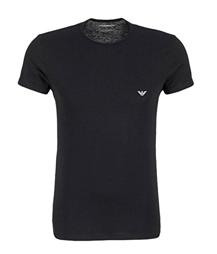 mens-genuine-emporio-armani-crew-neck-cotton-underwear-t-shirt-large-black-grey