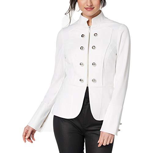 XOXO Damen Bekleidung XOXO Militär-Blazer - Weiß - Small