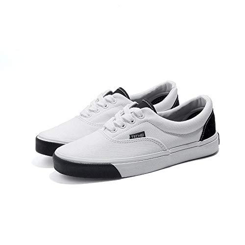 YYAMO Mocassini da Donna Unisex Sneakers Basse Unisex Espadrillas Scarpe di Tela Cool Girl Scarpe Basse Skateboard Studente di Moda Outdoor Road Running @ 38,24Cm
