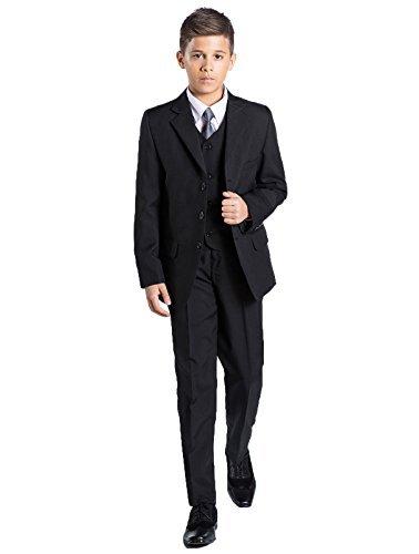 Shiny Penny Kostüm Schwarz für Jungen Größe 1–13Jahre, -