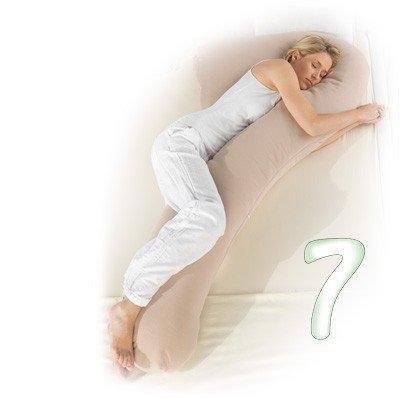Los siete - de lujo almohadas / almohada durmiente lateral, Theraline_2:Dessin 65 - Grau