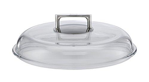 RÖSLE 91492 Borosilikat Glasdeckel, Durchmesser 28 cm, transparent