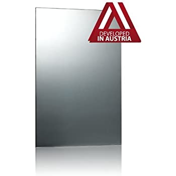 infrarotheizung spiegel rahmenlos 600 watt 90x60x2 5 cm. Black Bedroom Furniture Sets. Home Design Ideas