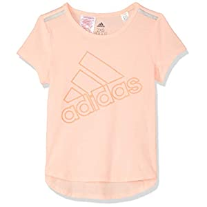 adidas Mädchen Training Brand Kurzarm T-Shirt
