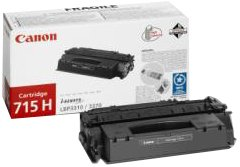 Canon CRG715BKH Lasertoner CRG715H, schwarz - 14 Druckkassette Schwarz