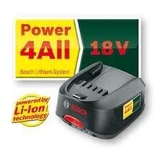 Bosch 18V, 1.5Ah Li-ion Battery (Pt No 2607336207) (for Bosch Batteries used on AHS 48 Li, AHS 52 Li, ART 26 Li Garden Tools & Bosch 18V-Li Green Power Tools)