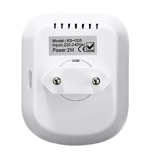 lailongp Infrarot-aktiviertes Nachtlicht des menschlichen Körpers, PIR-Bewegungs-Sensor-Lampe für Schlafzimmer-Küchen-Flurtreppen -