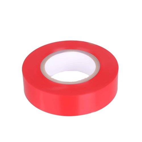 PVC Isolierband Klebeband 10 Meter lang 15 mm breit -rot-