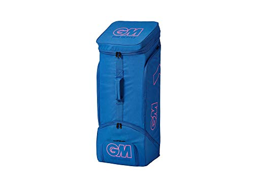 Gunn & Moore Unisex 808 Duffle Bag 2020 Cricket, Blau/Pink, Einheitsgröße