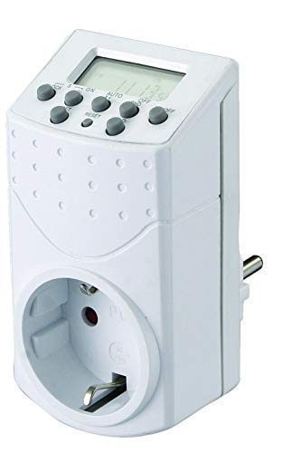 GAO EMT757 Digitale Mini Wochenzeitschaltuhr Mini Backup