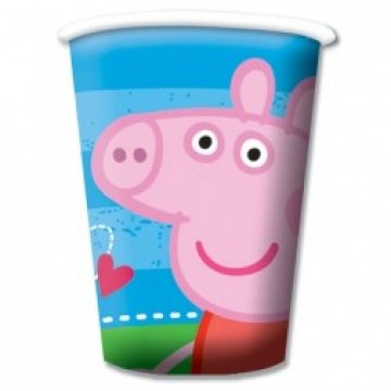 Peppa Pig Party Cups 1 Packung 8