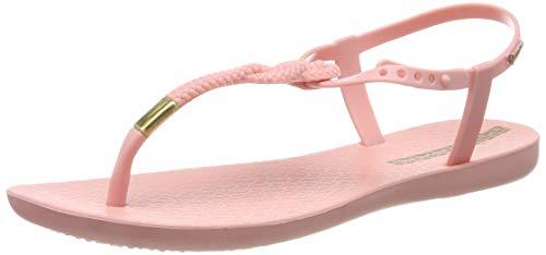 Ipanema Class Glam II Fem, Sandalias con Tira Vertical para Mujer, Pink 8027, 40 EU