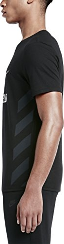Nike-Tee Ru NTF Chill HBR-Maglietta da uomo nero / bianco