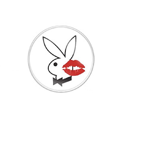 piercing-ombligo-logo-playboy-playboy-bunny-kiss-mark-white