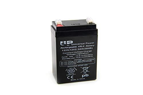 12V Vlies Batterie 2,3 Ah für Simson Moped's inkl. 7,50 Pfand (1-047)