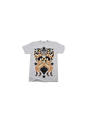 Magic custom - T-shirt beyonce mirror Gris
