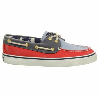 Sperry Top-Sider Bahama 2-Eye Halbschuh Red / Blac Sperry Topsider Bahama