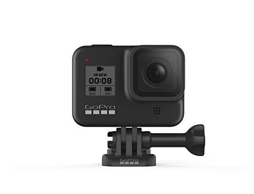 GoPro HERO8 Black – wasserdichte 4K-Digitalkamera mit Hypersmooth-Stabilisierung, Touchscreen und Sprachsteuerung – Live-HD-Streaming